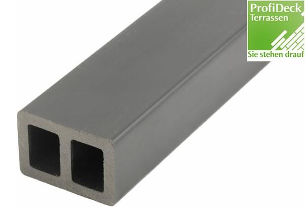 WPC Atrox Unterkonstruktion 40x60mm - 4m Grau