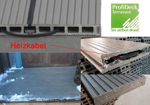 UPM ProFi Deck 150 Dielenheizung - Terrassenheizung