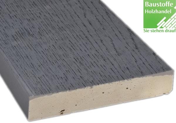 Millboard Terrassendiele Enhanced Grain in Brushed Basalt 32x176mm