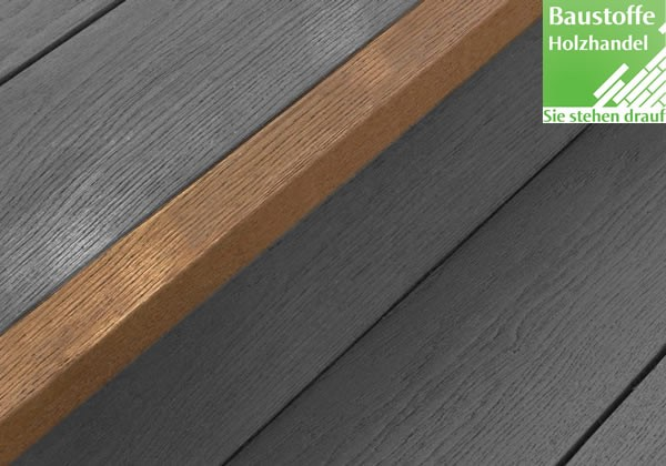 Millboard Abschlussprofil eckig 33x50mm in allen Farben