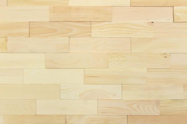 Wodewa Holzriemchen Zirbe select strukturiert Natur 1m²