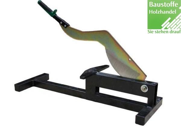 James Hardie Guillotine Schneidegerät für schnelle, saubere und präzise Paneelschnitte