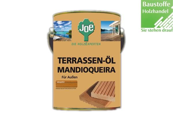 JOE Mandioqueiraöl in Natur, Dunkel und Hell 2,5Liter