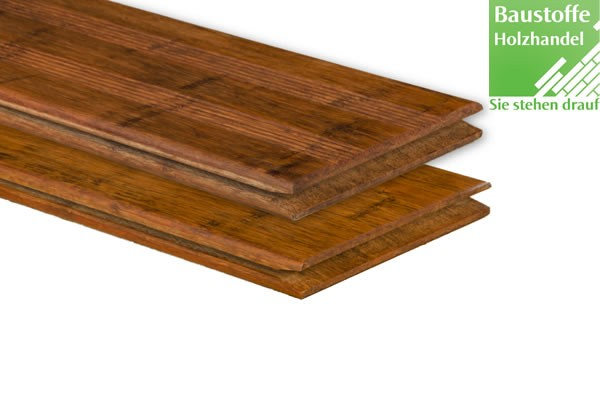 Bambus Select Terrassendiele Coffee 20x140x2200mm französisch profiliert / glatt