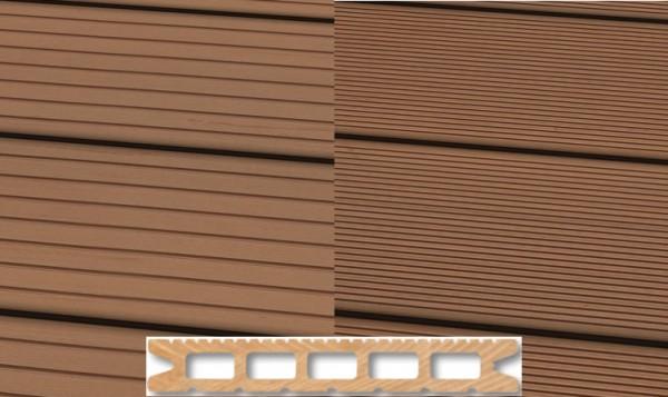 WPC Terrassendiele 22 x 143mm Hellbraun in 4 Längen