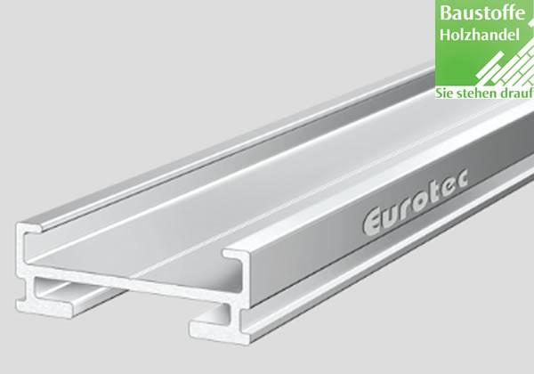 Aluminium Unterkonstruktion EVO Slim 20x60mm von Eurotec in 2,4m und 4m Längen