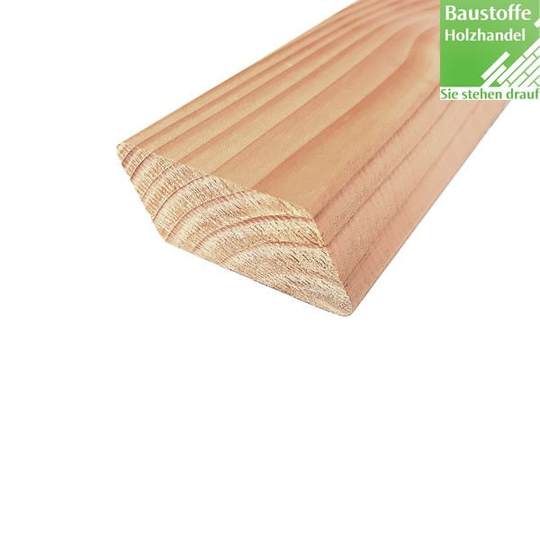 Rhombus Fassadenprofil Douglasie 26x68mm