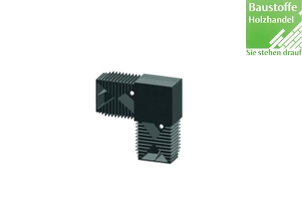 L-Verbinder für Unterkonstruktion 40x60mm in 2,0m VE = 25 Stück
