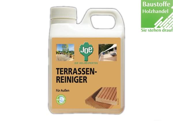 JOE Terrassenreiniger für Hölzer gegen Algen, Dreck, Fett und Öl 2,5 Liter