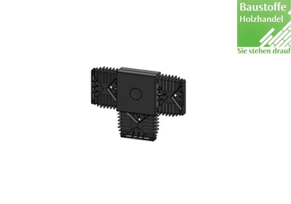 T-Verbinder für Unterkonstruktion 20x60mm in 2,0m VE = 25 Stück