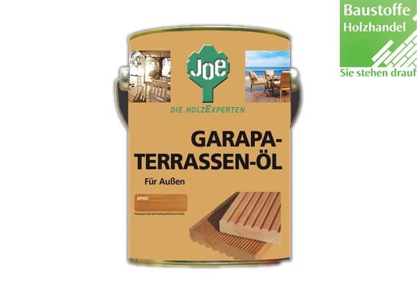 JOE Garapaöl Naturgetönt 2,5Liter