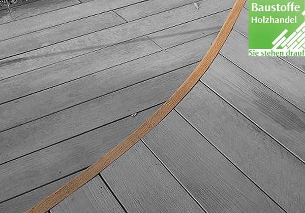 Millboard Abschlussprofil flexibel 33x50mm in allen Farben