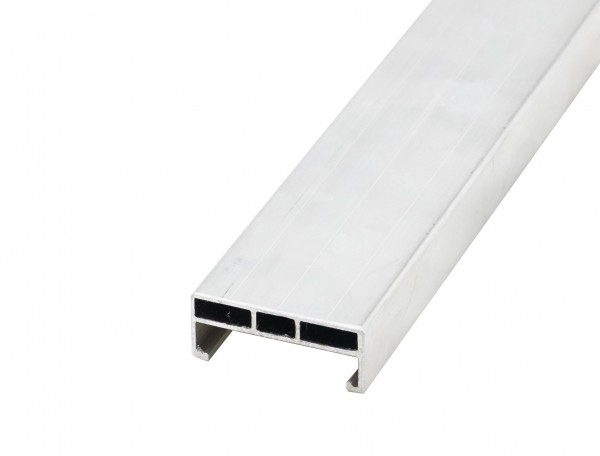 Atrox Aluminium Unterkonstruktion 24x58mm - 4m für Terrassenbau