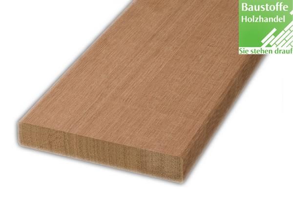 Bangkirai Terrassendiele 25x145mm vierseitig glatt gehobelt