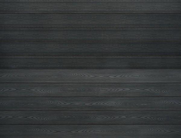 WPC massiv Terrassendiele 22 x 143mm Dunkelgrau Holzstruktur / Gebürstet in 4 Längen