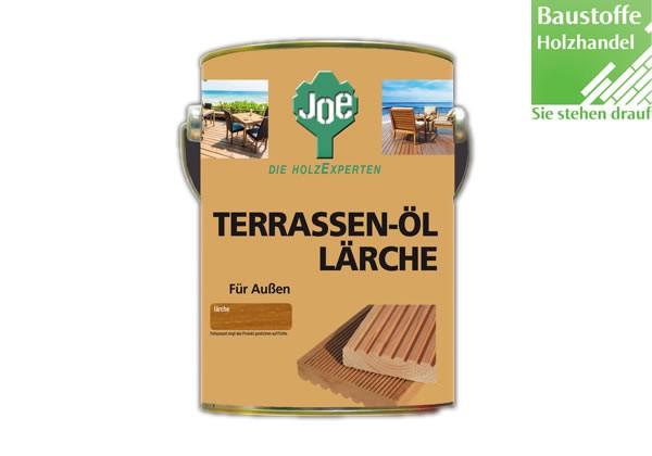JOE Lärche Natur Terrassenöl 2,5 Liter
