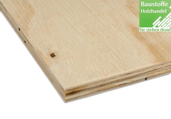 Furnierplatten Brasilianisch Elliotis Pine 1250mm x 2500mm in 5 Stärken