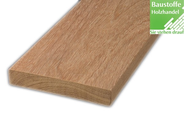 Cumaru Braun Terrassendiele 21x145mm vierseitig glatt gehobelt