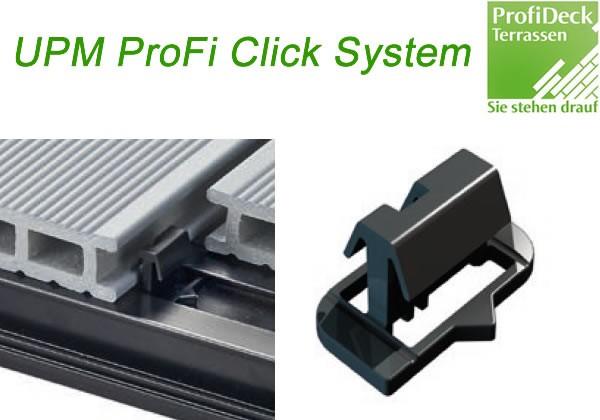 UPM ProFi Click Clip zur Dielenbefestigung