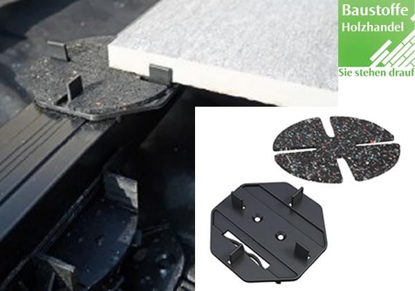 M-Fix Plattenlager für Aluminium Unterkonstruktion