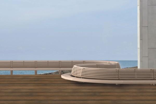 WPC massiv Terrassendiele 22 x 143mm Eiche Holzstruktur / Gebürstet in 4 Längen