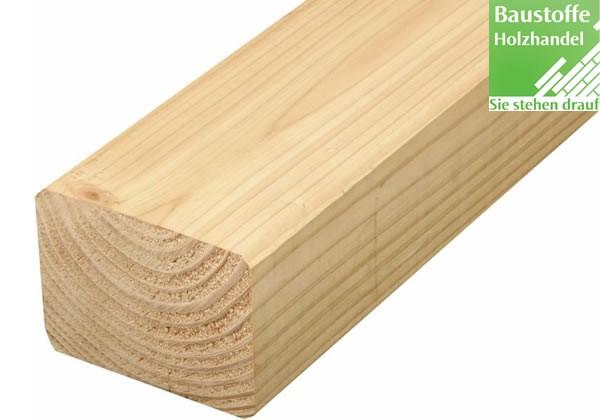 Douglasie Holz Unterkonstruktion 60x80mm glatt