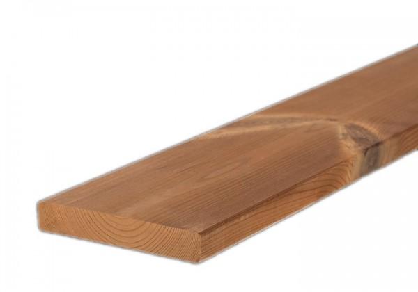 Lunawood Thermokiefer Glattkantbrett Fassadenprofil 19 x142mm