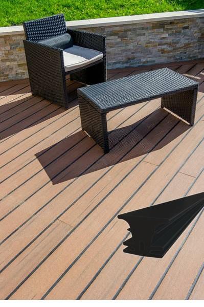 UPM ProFi Classic Deck Rubber Strip Dielenfugengummi 50m Rolle