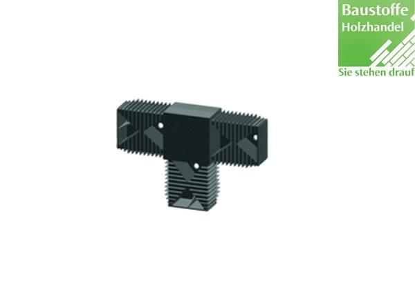 T-Verbinder für Unterkonstruktion 40x60mm in 2,0m VE = 25 Stück